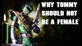 RANT: Why Tommy Should Not Be A Female In Power Rangers Sequel