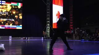 IDO Street Dance Show World Championships- Team Canada Silver Medal Female Solo