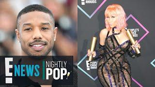 Nicki Minaj's Thirst For Michael B. Jordan Is Real at 2018 PCAs | Nightly Pop | E! News