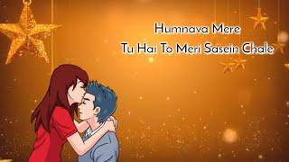 Humnava Mere || Female Version || Sad Whatsapp Status Video || Sanam Style || Armaan Arfaaz ||