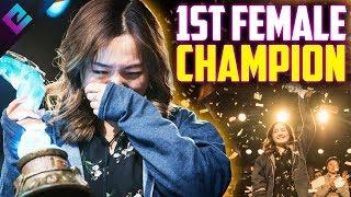 Esports First Ever FEMALE Champion - VKLiooon Wins Hearthstone Championship