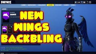 THE BEST SKIN AND BACKBLING IN FORTNITE! FEMALE RAVEN WITH WINGS