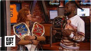 WWE champions Becky Lynch and Kofi Kingston in awe after WrestleMania 35 wins | Get Up!