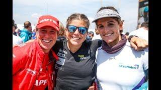 This is what happened when we put 6 female Olympians.. in an Optimist race! | Volvo Ocean Race