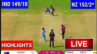 Highlights, New Zealand Women Beat India women  by 8 wicket in 3rd ODI match 2019 | Series win 2-1
