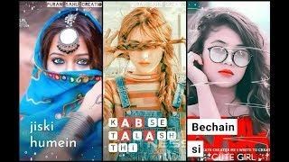 New female version whatsapp status video || sad girl || full screen whatsapp status || Love status |
