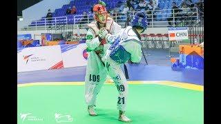Female  67kg Quarterfinal|Yunyun Shan (CHN) VS Milena Titoneli (BRA)