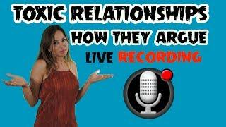 How Narcissists Argue - Live Conversation w Female Narcissist - Trigger Warning