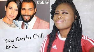Omari Hardwick Lashes Out On Black Female Fan For Not Respecting His White Wife.. | MasaniMusa