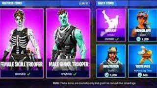 Female SKULL TROOPER & GHOUL TROOPER COMING OUT ON Halloween! NOT FAKE