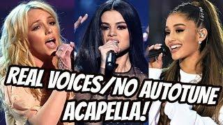 Female Singers | REAL VOICES (WITHOUT AUTO-TUNE)