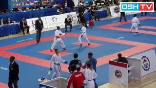 Dwi Fadhillah (INA) Vs Shen Jiaxing (CHN) - Kumite -50Kg Female - Karate 1 Series A Shanghai China