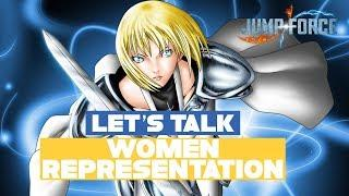 Let's Talk: Lack of Female Representation hurting the series!? Jump Force 2019 Analysis & Wishlist