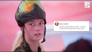 Who is the best female paintball player in the world?