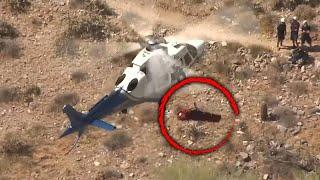Woman Spins 175 Times During Helicopter Rescue Gone Wrong