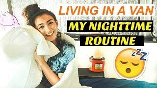 Solo Female Van Life: MY NIGHT ROUTINE ???? Summer 2018 | Hobo Ahle