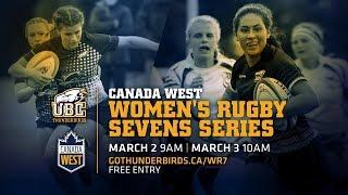 Canada West Women's Rugby Sevens Tournament - Day 2