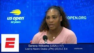 2018 US Open press conference: Serena Williams says I don't need to cheat to win | ESPN