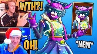 """NINJA REACTS TO *NEW* """"DJ BOP"""" SKIN! (FEMALE YONDER) Fortnite Fails and WTF Moments"""