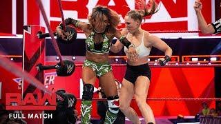 FULL MATCH - Ronda Rousey vs. Alicia Fox: Monday Night Raw, Aug. 6, 2018 (WWE Network Exclusive)