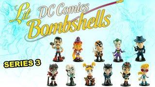 DC Comics - Lil Bombshell Series 3 Vinyl Figures