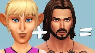 Breed Out The Weird || Female Version // The Sims 4 Cas Challenge