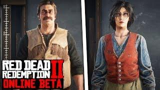 Red Dead Online Character Creation! Male & Female Customization! Red Dead Redemption 2 Online