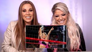 Alexa Bliss & Mickie James watch the first-ever Women's Elimination Chamber Match: WWE Playback