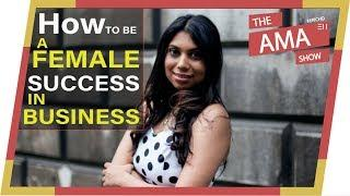 Is it harder to succeed as a female entrepreneur   Success Secrets Ft. Julian Ponan [AMA_023]