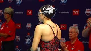 Women's 200m Breast A Final | 2019 TYR Pro Swim Series – Des Moines