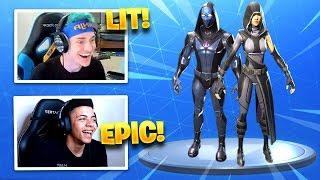 STREAMERS REACT TO *NEW* FATE & OMEN SKINS! - Fortnite Funny Fails & WTF Moments #197