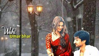 New Romantic Love Whatsapp Status Video,,Sun Mere Humsafar female version by Love forever status