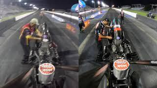 Meyer vs. Meyer: All Female Top Alcohol Dragster Final in Tulsa