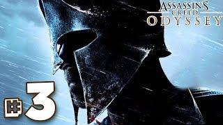 THE BOUNTY HUNTER!!! - Assassin's Creed Odyssey Walkthrough | Part 3 (PS4) HD