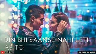 Tere Bin Nahi Lage | Female | Romantic | WhatsApp Status Video | 30 Sec | Lyrics