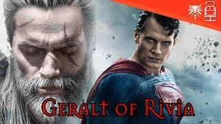 Henry Cavill CAST as Geralt for The Witcher NETFLIX Series
