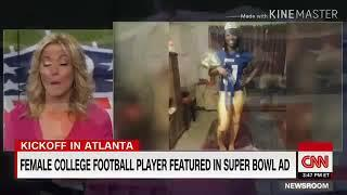 ESAU PUSHING FOR FIRST FEMALE NFL PLAYER IN HISTORY!? -Toni Harris (ISRAELITE Woman)