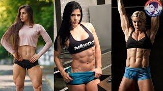 Female Fitness Amazing Work Out Motivational Video
