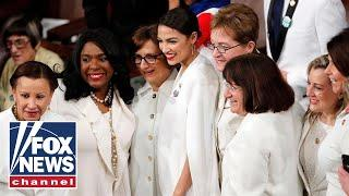 Female House Dems organize 'white out' at State of the Union