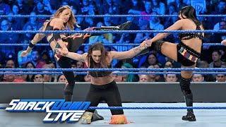 The IIconics vs. Brooklyn Belles - WWE Women's Tag Team Title Match: SmackDown LIVE, April 9, 2019