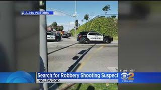 Woman Shot In Face During Christmas Day Street Robbery In Inglewood; Female Suspect At Large