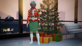 Christmas Old Woman | Best Female Outfits in GTA ONLINE (Fashion Series #5)