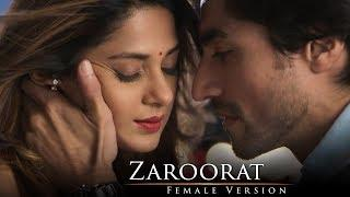 Zaroorat | Bepannah | Full Song (Female Version) | HD Lyrical Video | Jennifer Winget