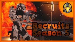 Recruits Season 5 Episode 6 'Kaboom' (Halo Machinima Series)