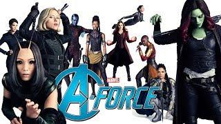 Marvel's A-force Trailer (Female Avengers)