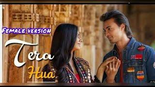 Female Version || Tera Hua Whatsapp Status Video | Tera Hua #FemaleVersion Whatsapp Status LoveRatri