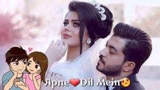 Apne Dil Mein Female Song Whatsapp Status | ❤New Whatsapp Status Video❤