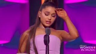 Ariana Grande - Billboard Woman Of The Year Accepting Speech (2018)
