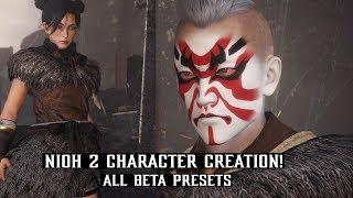 NioH 2 - All Character Creation & Customization - Male / Female