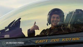 'Higher, Further, Faster': F-16 Viper Team Gets 1st Female Commander